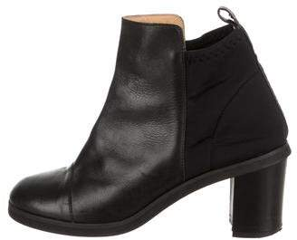 MM6 MAISON MARGIELA Leather Ankle Boots