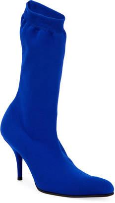 Balenciaga Sock-Knit Tall Booties