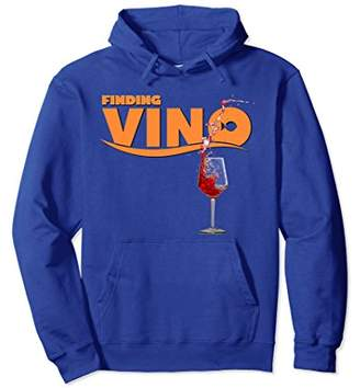 Finding Vino Drinking Hoodie for Wine Lovers