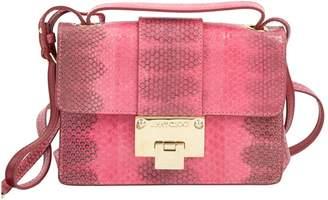 a84bce1ea174 Jimmy Choo Rebel Pink Leather Clutch Bag