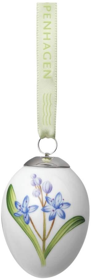 Spring Easter Egg Scilla Porcelain Figurine