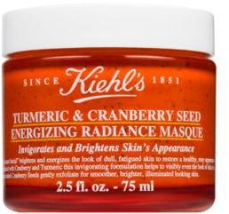 Kiehl's Since Turmeric & Cranberry Seed Energizing Radiance Masque $32 thestylecure.com