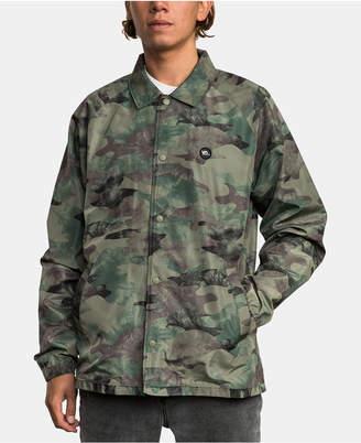 RVCA Men Camo Jacket