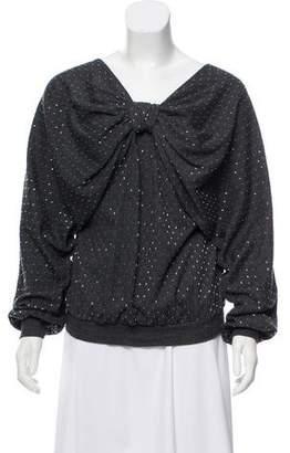 Ashish Embellished Long Sleeve Top