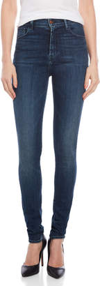 J Brand Carolina Super High-Waisted Skinny Jeans
