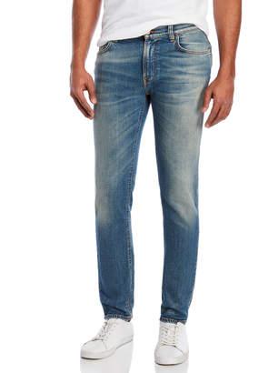 Nudie Jeans Navy Blaze Thin Finn Jeans