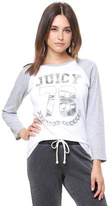 Juicy Couture Juicy 78 Baseball Tee