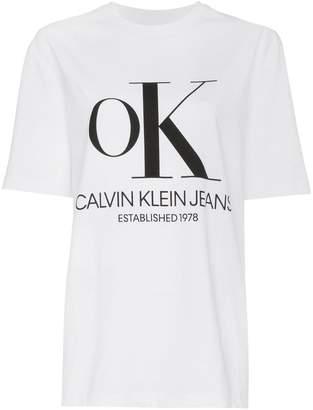 Calvin Klein Jeans Est. 1978 OK print t-shirt