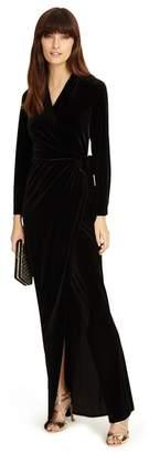 d7e2723cd7 at Debenhams · Phase Eight Valeria Velvet Full Length Dress