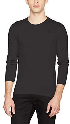 G Star Men's Base R T L/S 1-Pack Long Sleeve Top,X