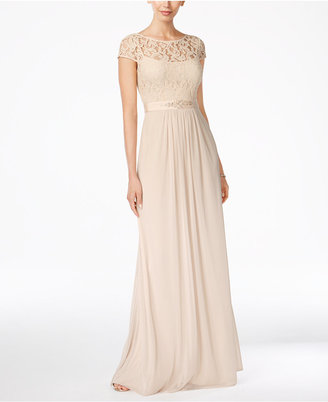 Adrianna Papell Lace Illusion Gown $179 thestylecure.com