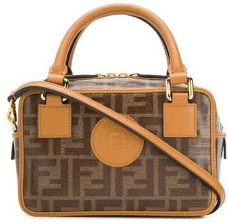 Fendi ff monogram boston small handbag