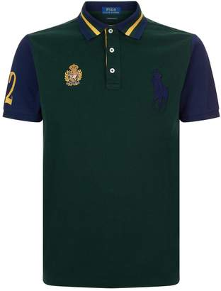 Polo Ralph Lauren Striped Collar Rugby Polo Shirt