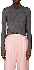 The Row Women's Margit Cashmere Turtleneck Sweater-Dark Gray Melange