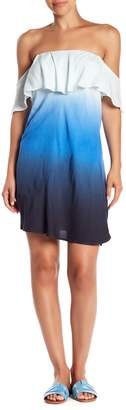 Sangria YFB Clothing Off-the-Shoulder Dress