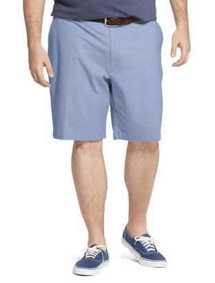 """Izod Men's Big and Tall Saltwater Stretch 9.5"""" Chino Shorts"""