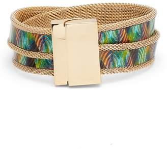Vince Camuto Mesh Magnetic Wrap Bracelet