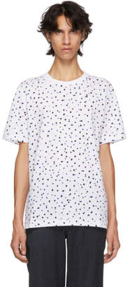 Paul Smith White Regular Fit Polka Dot T-Shirt