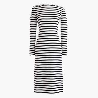 J.Crew Long-sleeve striped dress