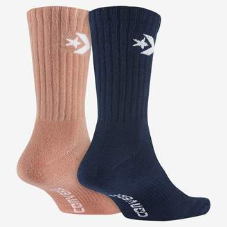 Converse Crew Women's Socks (2 Pair)