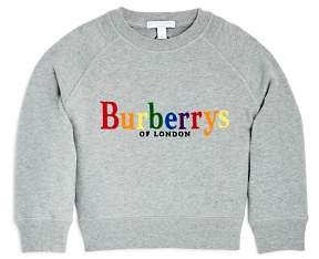 Burberry Girls' Elin Logo Sweatshirt - Little Kid, Big Kid