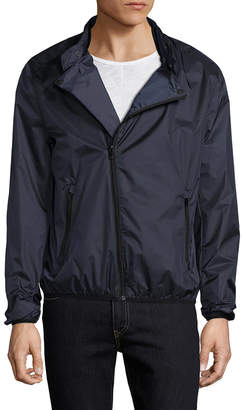 The Kooples Lightweight Stand Collar Jacket