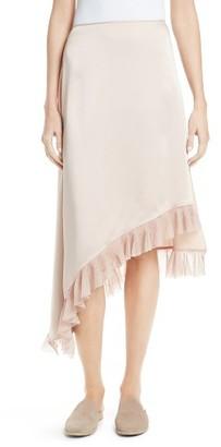 Women's Elizabeth And James Ailie Asymmetrical Ruffle Skirt $295 thestylecure.com