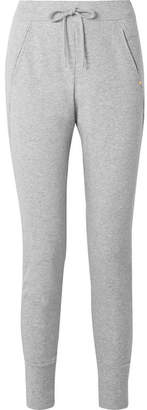 Hanro Pure Comfort Stretch Cotton-blend Jersey Track Pants - Gray