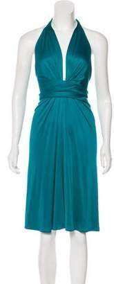 Issa Silk Midi Dress w/ Tags