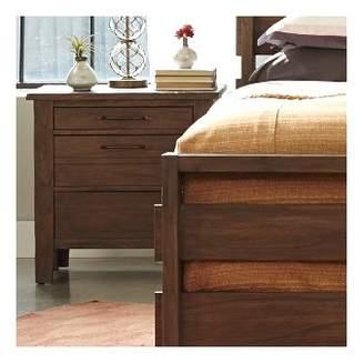 Panama Jack Driftwood 3 Drawer Nightstand