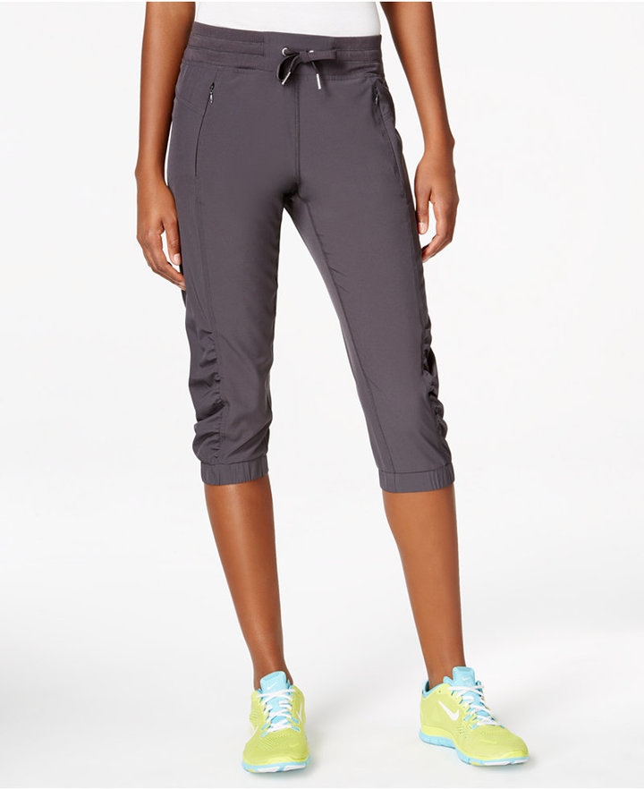 Calvin Klein Performance Commuter Active Ruched Capri Pants