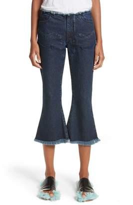 Marques Almeida Marques'Almeida Cowboy Crop Jeans
