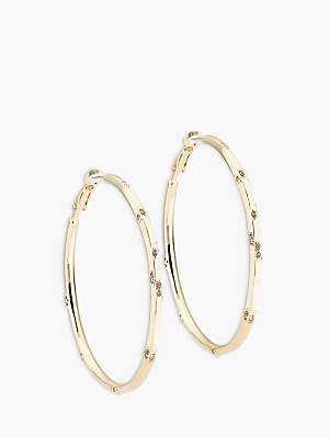 0d05f44bc Karen Millen Swarovski Crystal Hoop Earrings