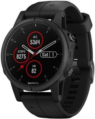 L.L. Bean L.L.Bean Garmin Fenix 5S Plus GPS Fitness Watch, Sapphire