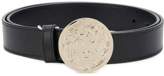 Versus lion head buckle belt