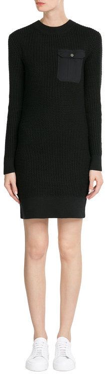 Marc By Marc JacobsMarc by Marc Jacobs Knitted Cotton-Silk Sweater Dress