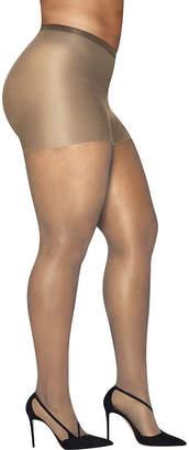 Hanes Silky Sheer Tights-Plus