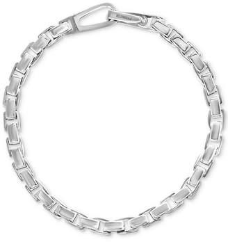 Effy Men Polished Link Bracelet in Sterling Silver