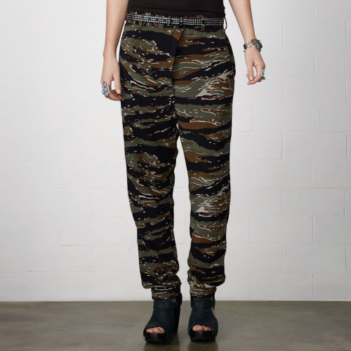 Denim & Supply Ralph Lauren Camo Chino Harem Pant