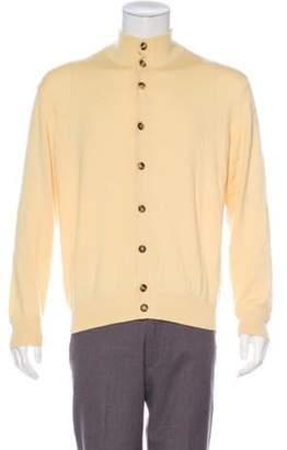 Loro Piana Cashmere & Silk Cardigan yellow Cashmere & Silk Cardigan