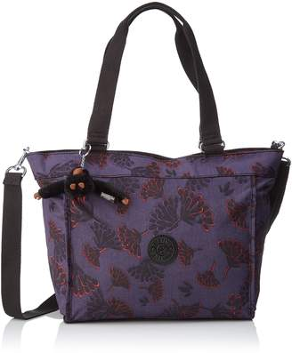 Kipling New Shopper S, Women's Tote, Mehrfarbig (Floral Night), 42x27x0.1 cm (B x H T)
