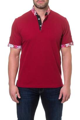 Maceoo Contrast Short Sleeve Polo