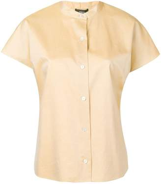 Theory short-sleeve fitted shirt