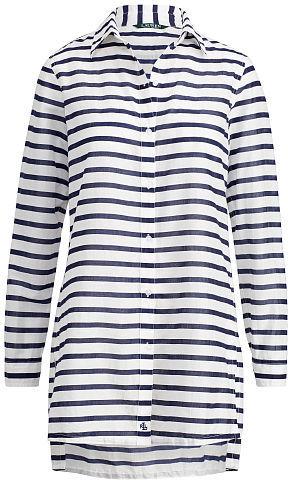 Ralph Lauren Lauren Striped Cotton Cover-Up