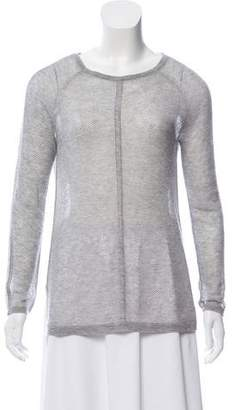 Magaschoni Cashmere Open Knit Sweater