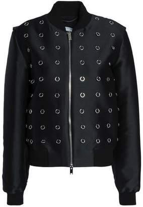 Stella McCartney Embellished Twill Bomber Jacket