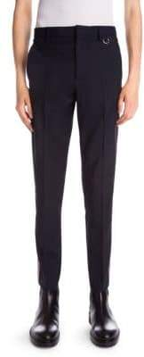 Valentino Side-Stripe Wool& Mohair Trousers