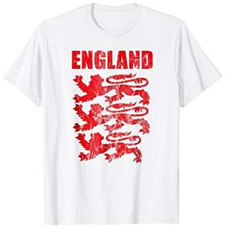 England Red Lions T-Shirt Gift for Soccer Cup Jersey Lover