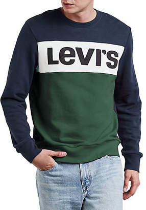Levi's Colourblock Logo Crew Sweatshirt