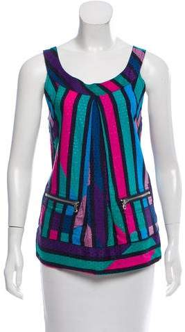 Marc by Marc Jacobs Striped Sleeveless Top